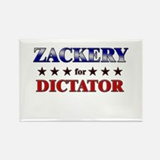 ZACKERY for dictator Rectangle Magnet