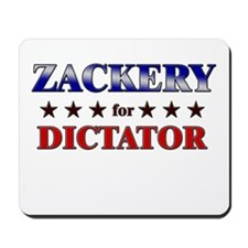 ZACKERY for dictator Mousepad
