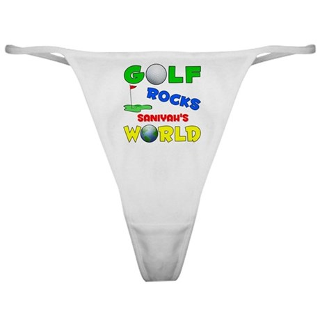 Golf Rocks Saniyah's World - Classic Thong