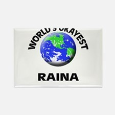 World's Okayest Raina Magnets