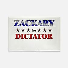 ZACKARY for dictator Rectangle Magnet