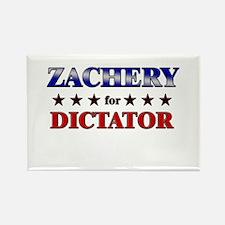 ZACHERY for dictator Rectangle Magnet