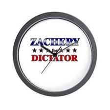ZACHERY for dictator Wall Clock