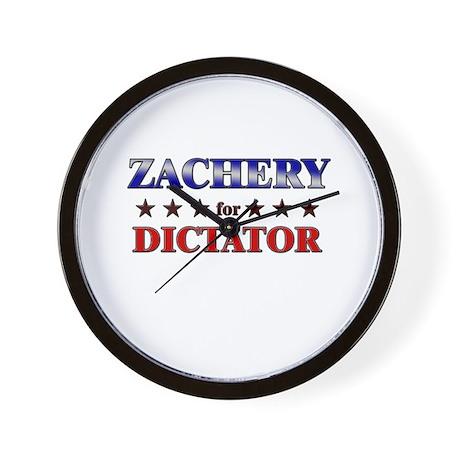 ZACHERY for dictator Wall Clock