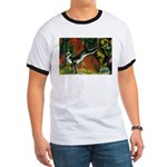 3 Cats Expressionist Pet Ringer T