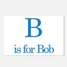 B is for Bob Postcards (Package of 8)