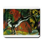3 Cats Expressionist Pet Mousepad