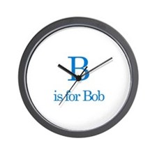 B is for Bob Wall Clock