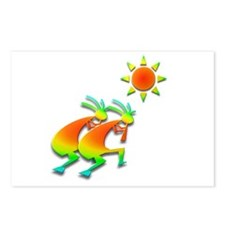 Two Kokopelli #46 Postcards (Package of 8)