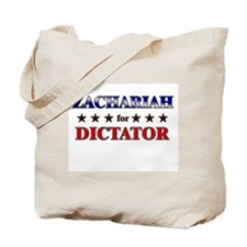 ZACHARIAH for dictator Tote Bag