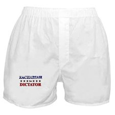 ZACHARIAH for dictator Boxer Shorts