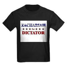 ZACHARIAH for dictator T