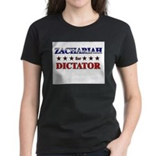 ZACHARIAH for dictator Tee