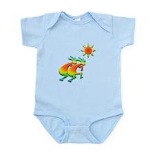 Two Kokopelli #46 Infant Bodysuit