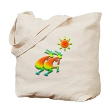Two Kokopelli #46 Tote Bag