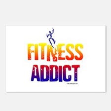 FITNESS ADDICT Postcards (Package of 8)