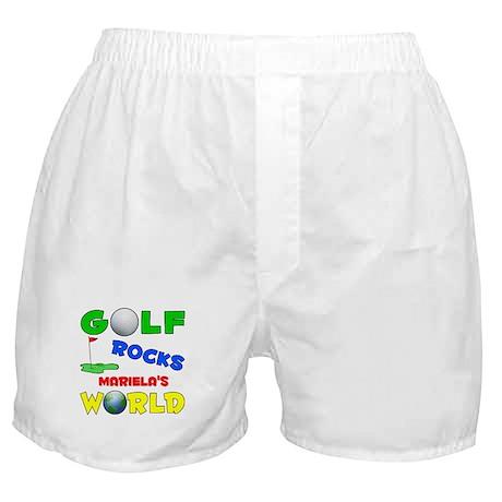 Golf Rocks Mariela's World - Boxer Shorts