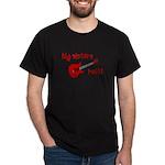 Big Sisters Rock! red guitar Dark T-Shirt