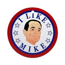 I Like Mike (Huckabee) Ornament (Round)