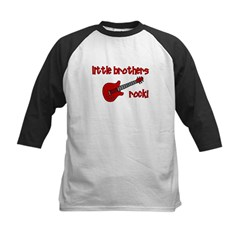 Little Brothers Rock! red gui Tee