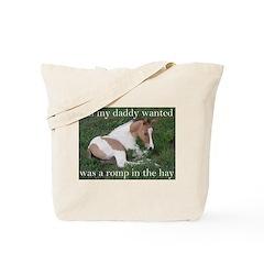 Sleeping foal Tote Bag