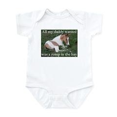 Sleeping foal Infant Bodysuit