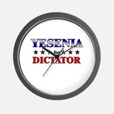 YESENIA for dictator Wall Clock