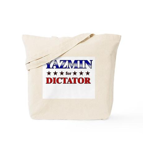 YAZMIN for dictator Tote Bag