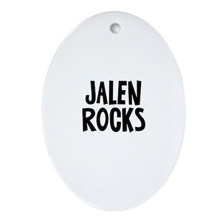 Jalen Rocks Oval Ornament