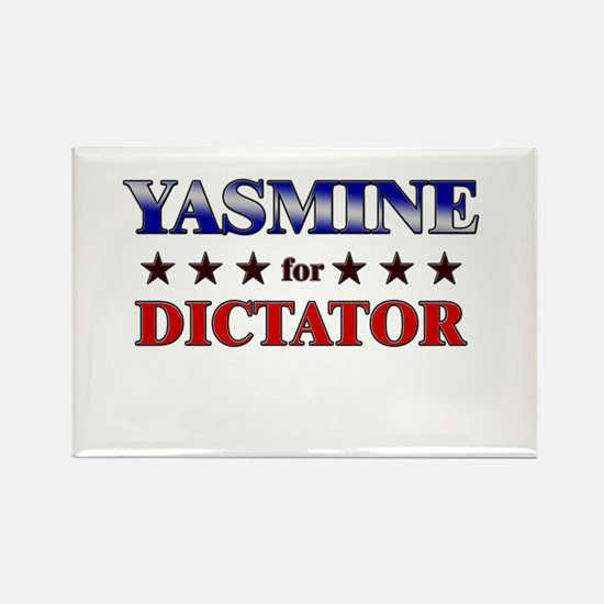 YASMINE for dictator Rectangle Magnet