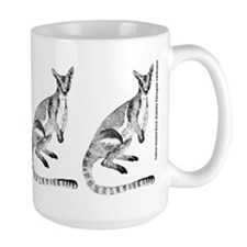 Yellow-footed Rock Wallaby Ceramic Mugs