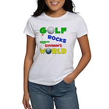 Golf Rocks Shyann's World - Tee
