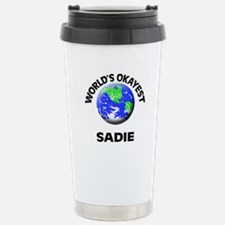 World's Okayest Sadie Stainless Steel Travel Mug