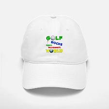 Golf Rocks Mckenna's World - Baseball Baseball Cap