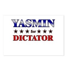 YASMIN for dictator Postcards (Package of 8)