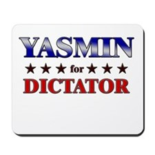 YASMIN for dictator Mousepad