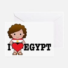 I Love Egypt Greeting Card