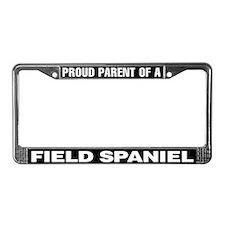 Field Spaniel License Plate Frame