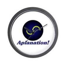 aplanation! Wall Clock