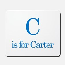C is for Carter Mousepad