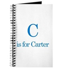 C is for Carter Journal