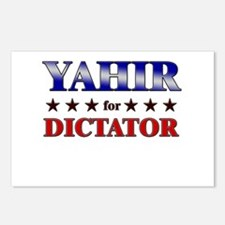 YAHIR for dictator Postcards (Package of 8)