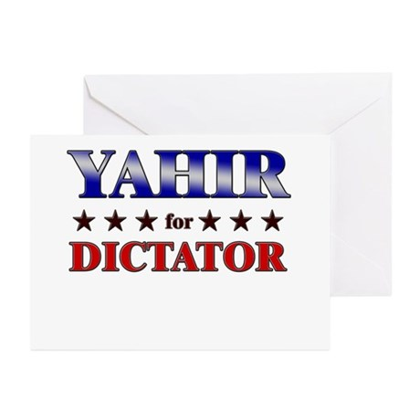 YAHIR for dictator Greeting Cards (Pk of 20)