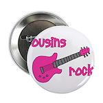 Cousins Rock! pink guitar 2.25