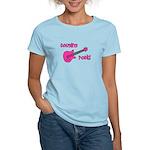 Cousins Rock! pink guitar Women's Light T-Shirt