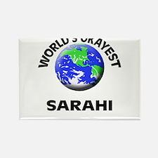World's Okayest Sarahi Magnets