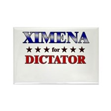 XIMENA for dictator Rectangle Magnet