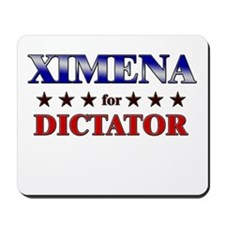 XIMENA for dictator Mousepad