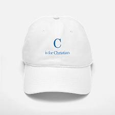 C is for Christian Baseball Baseball Cap