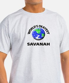 World's Okayest Savanah T-Shirt